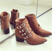 Boots Pri Camel