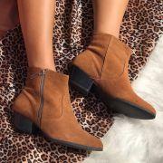 Boots Rafa Camurça