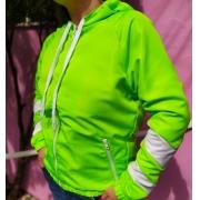 Jaqueta Tiffany Verde Neon