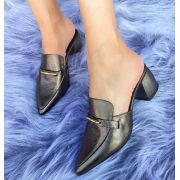Mule Lilly Cinza