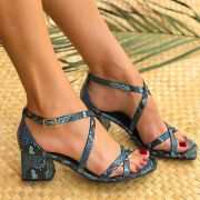 Sandália Antonela Azul