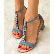 Sandália Isadora Jeans