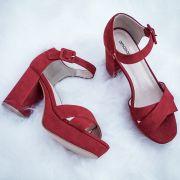 Sandália Janete Vermelha