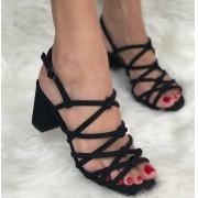 Sandália Mariah Preto