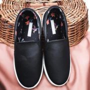 Slip On Analu Preto