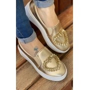 Slipon Mia Ouro