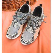 Sneaker Kira Piton Cinza