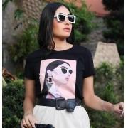 T-Shirt Shay Preto