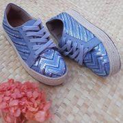 Tênis Bia Azul Jeans