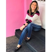 Tricot Elisa Cinza