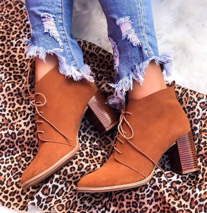 Ankle Boot Penélope Caramelo