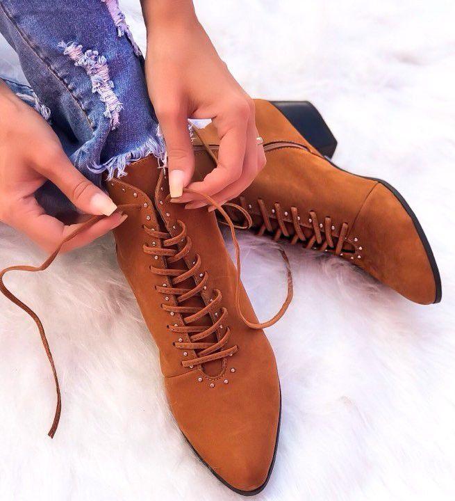 Boots Rita Caramelo