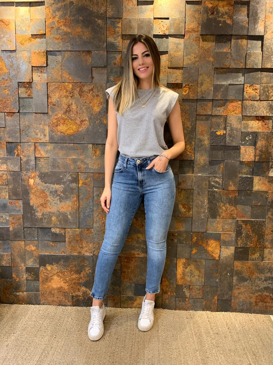Calça Jeans Capri Pack