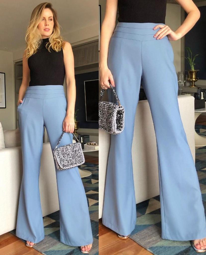 Calça Lana Azul
