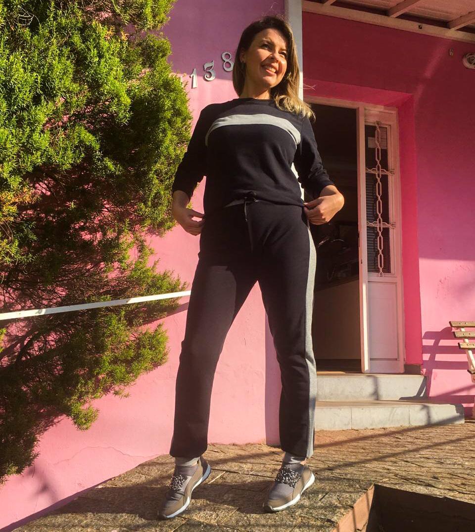 Conjunto Heidi Preto