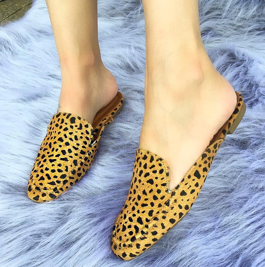 Mule Tati Leopardo