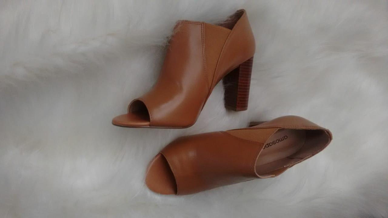 Open Boots Mariza preta
