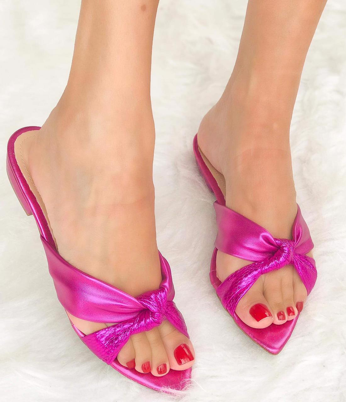 Rasteira Jade Pink