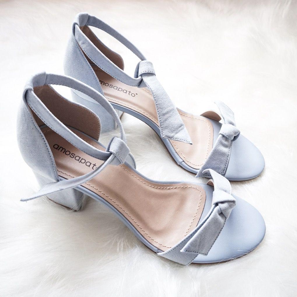Sandália Alice Azul