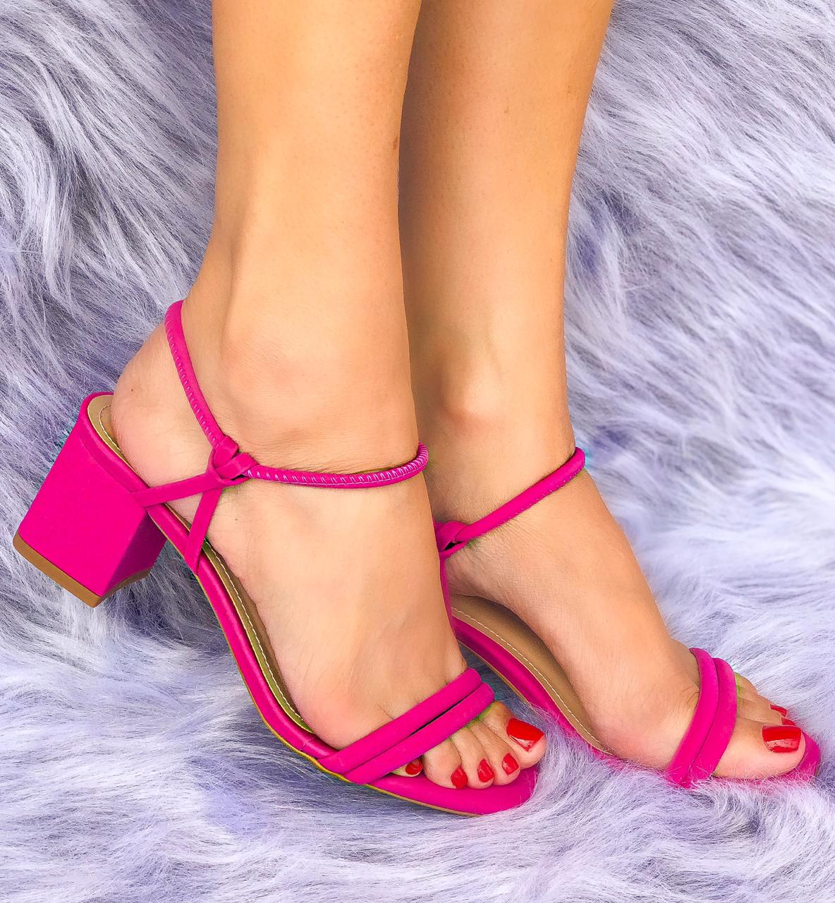 Sandália Betina Pink