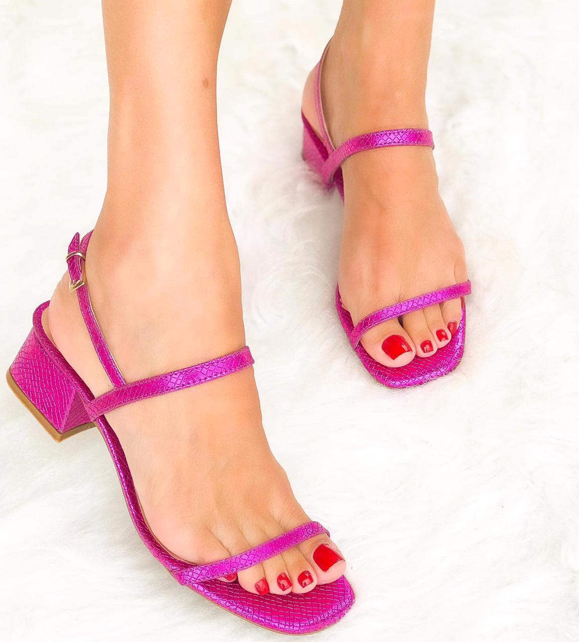 Sandália Cibele Pink