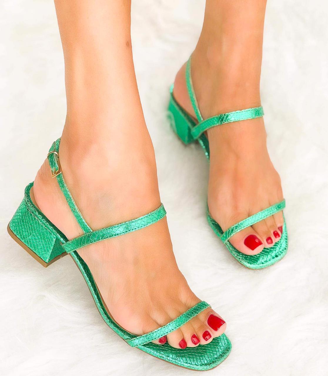 Sandália Cibele Verde