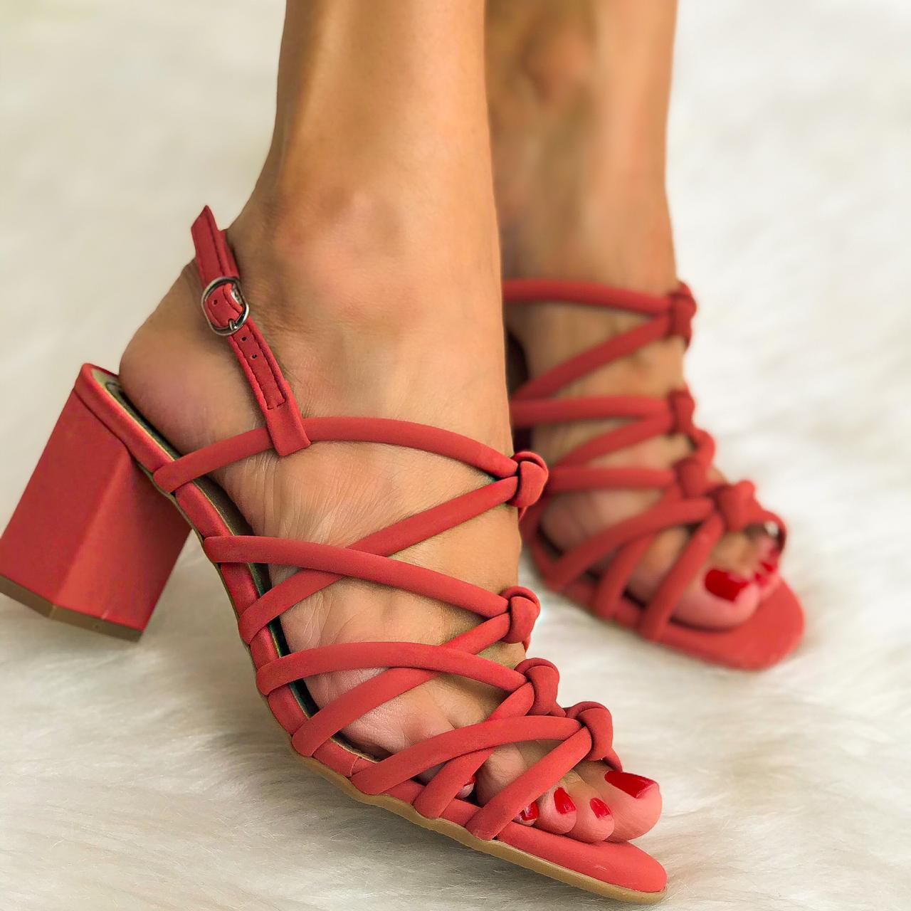 Sandália Mariah Jaspe