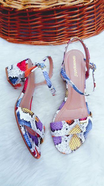 Sandália Mel Piton Colors