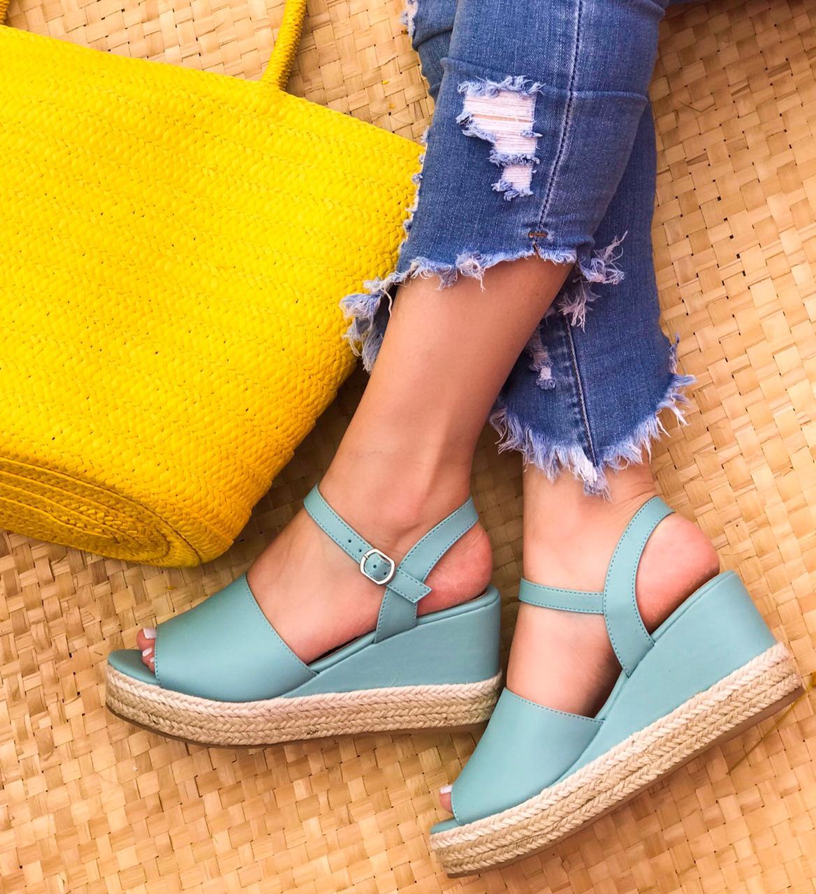 Sandália Paloma Azul