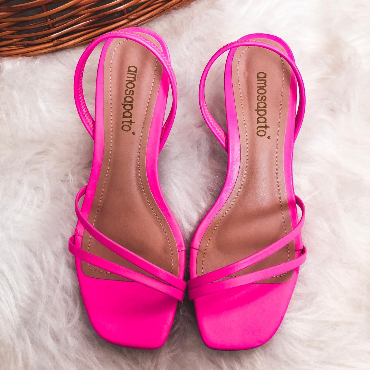 Sandália Paty Pink