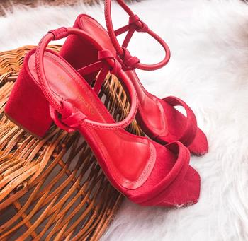 Sandália Rose Vermelho