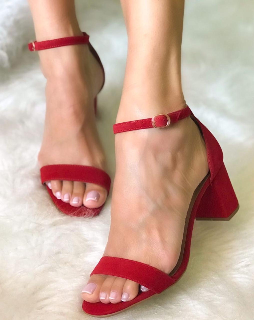 Sandália Suzy Vermelho