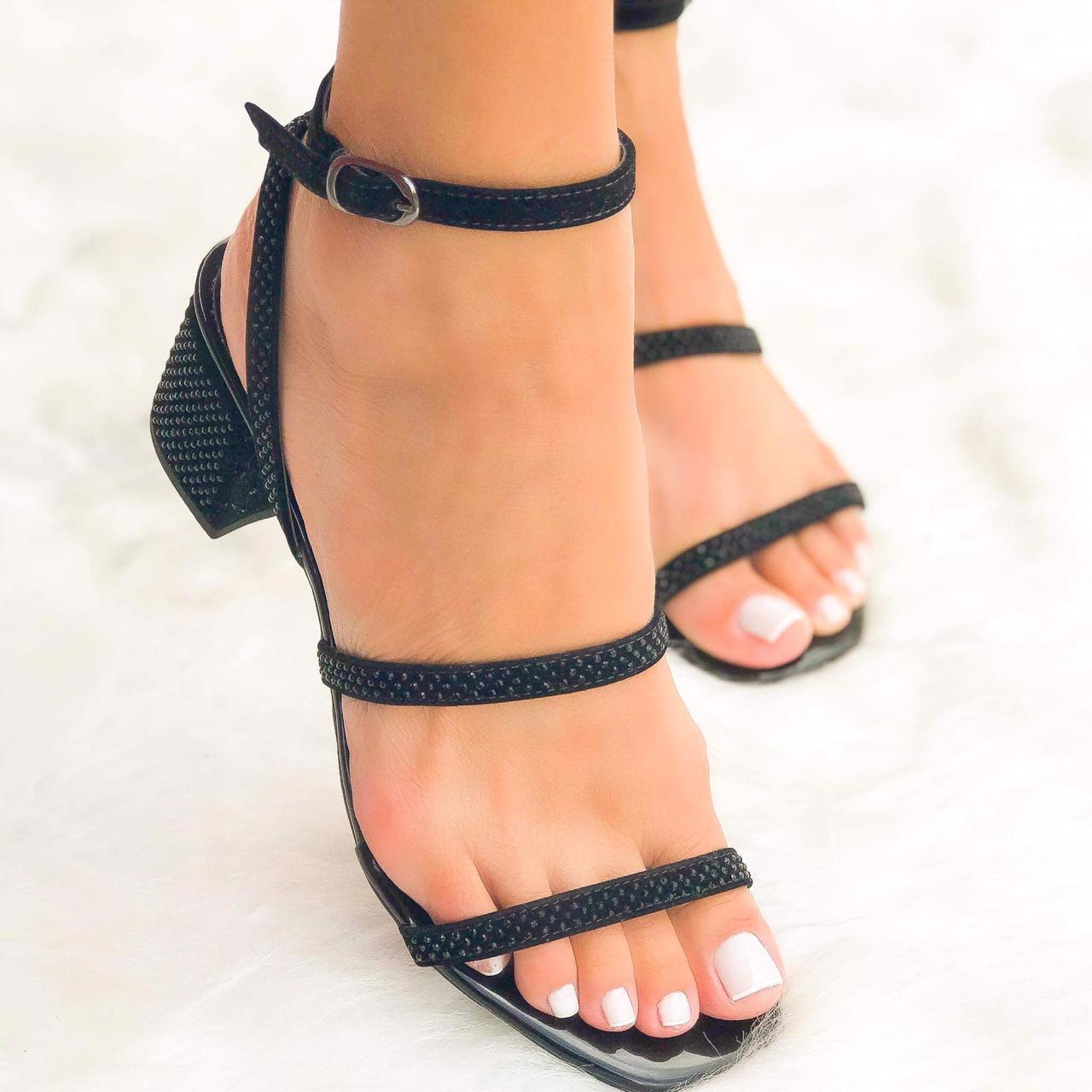 Sandália Verônica Preto
