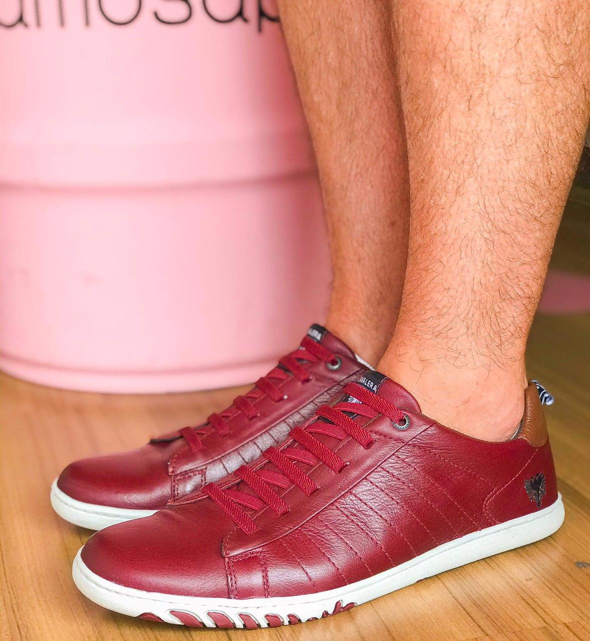 Sapatênis Tom Vinho