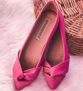 Sapatilha Brenda Pink