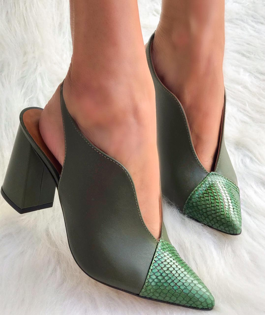 Scarpin Latika Verde