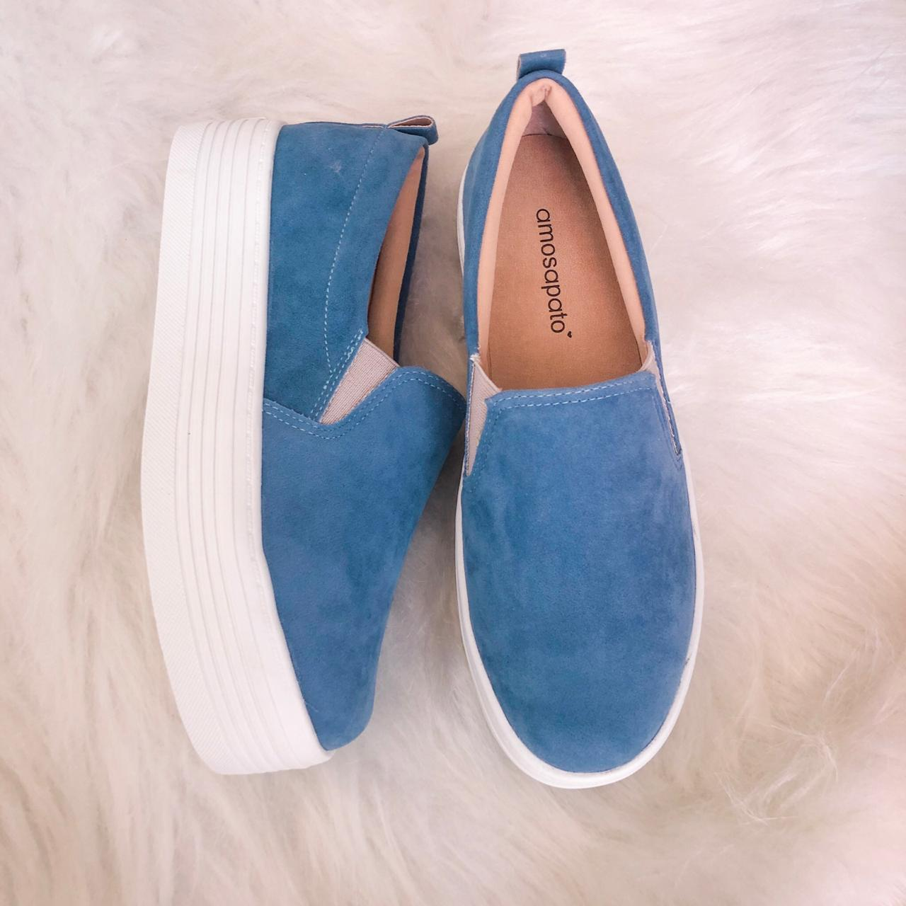 Slipon Nati Azul