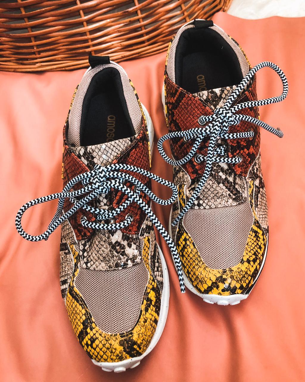Sneaker Kira Piton Yellow