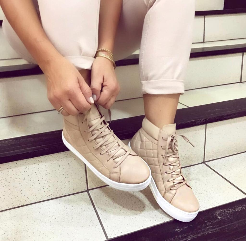 Sneaker Luana Nude