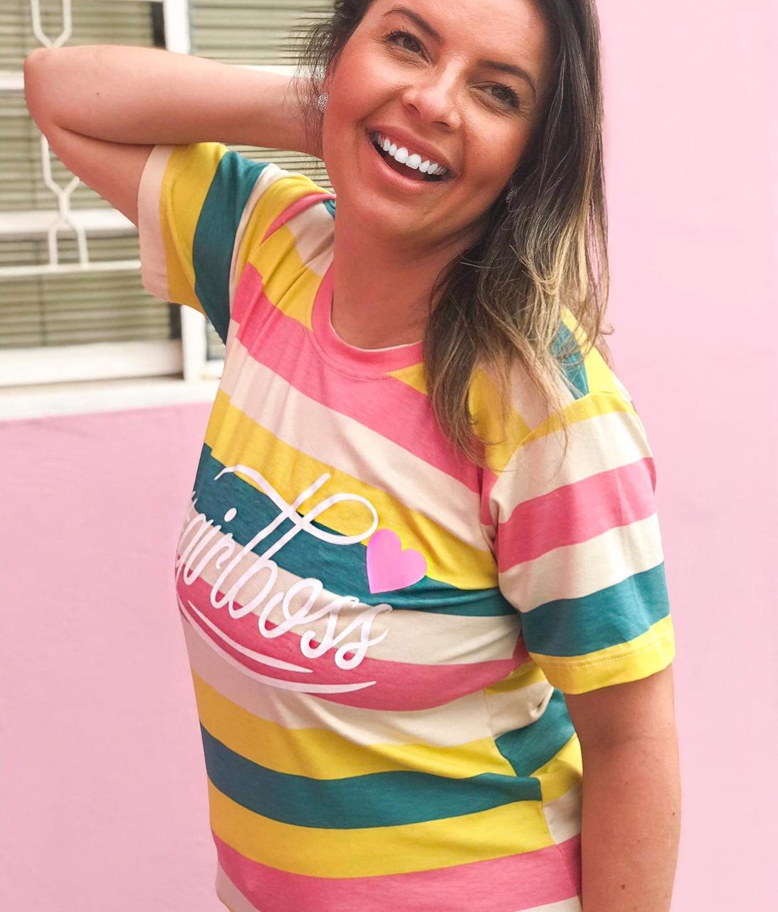 T-Shirt Girl Boss Colors
