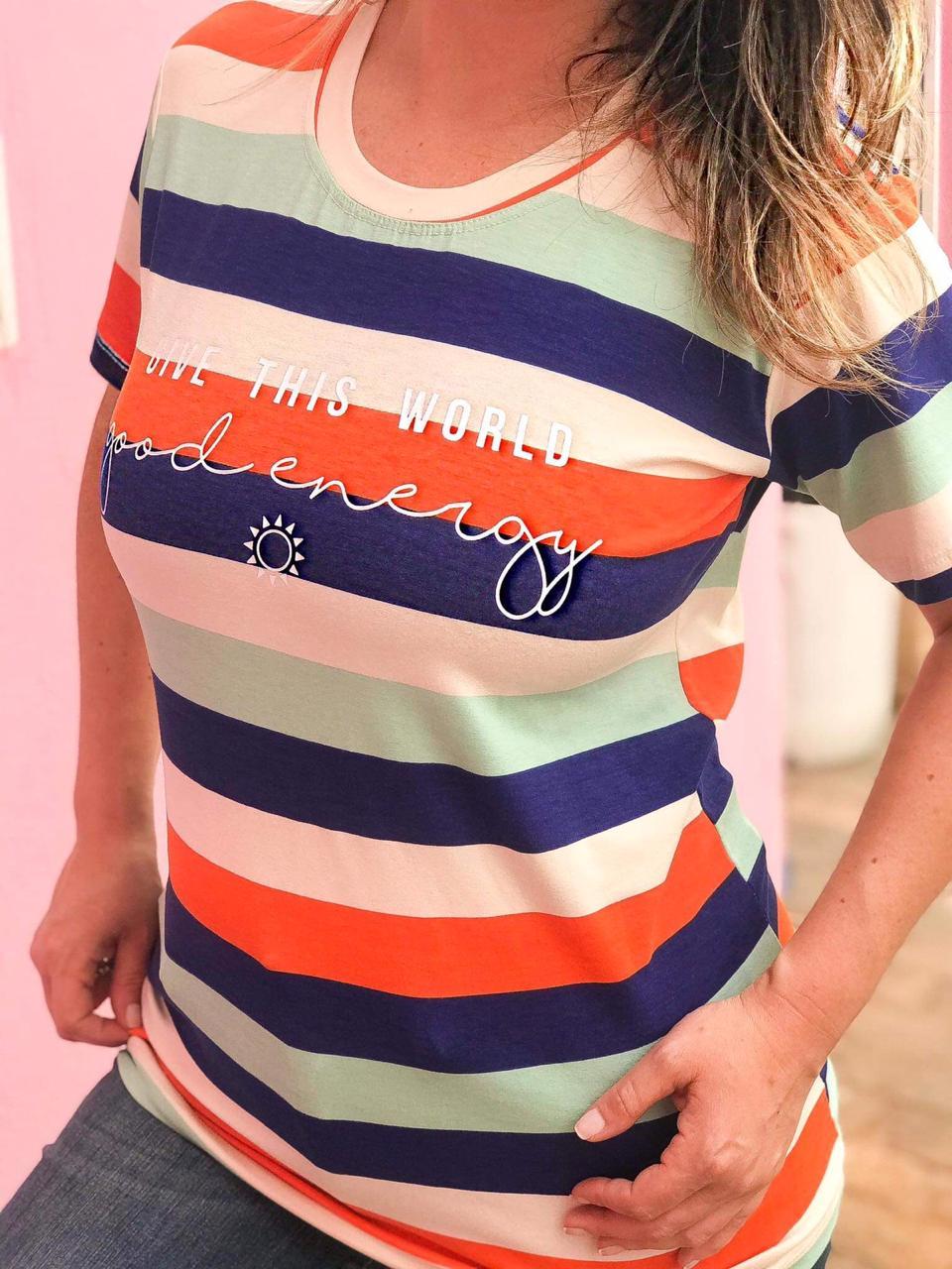 T-Shirt Good Energy Colors