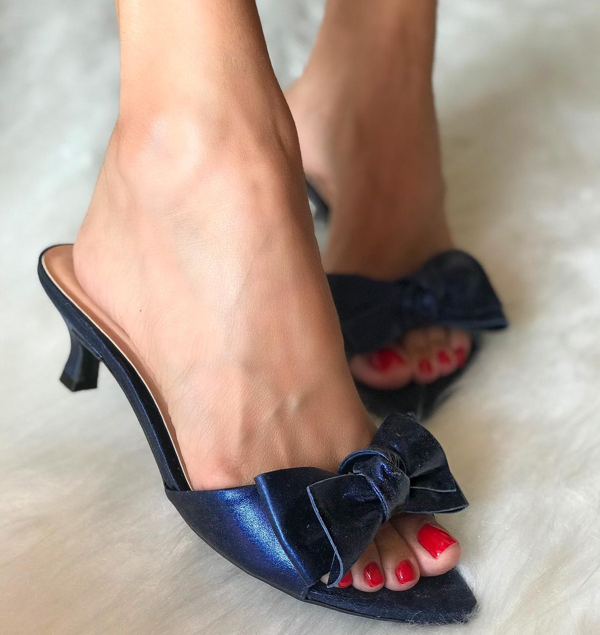 Tamanco Silvia Azul