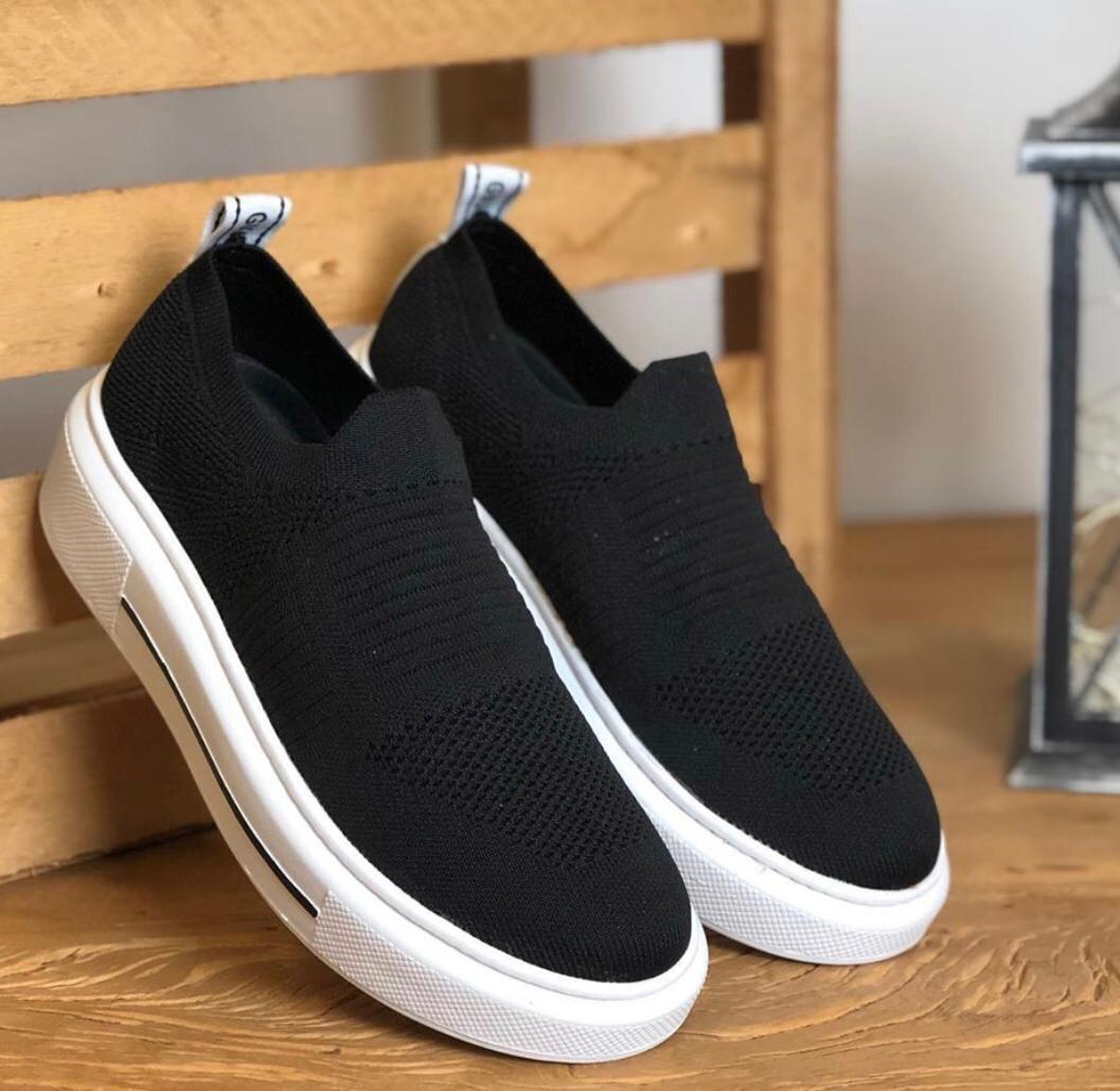 Tênis Socks Preto