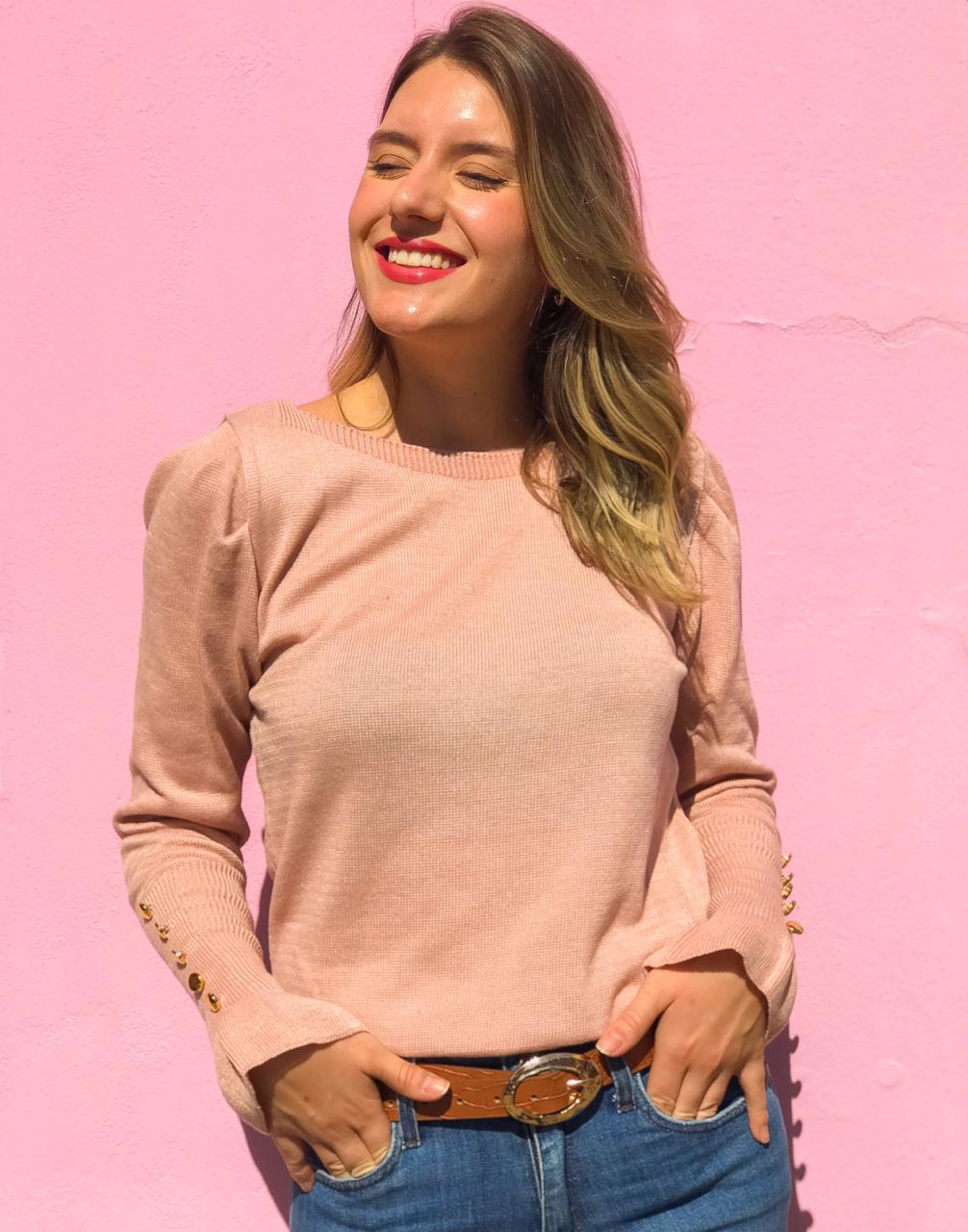 Tricot Allie Rosé