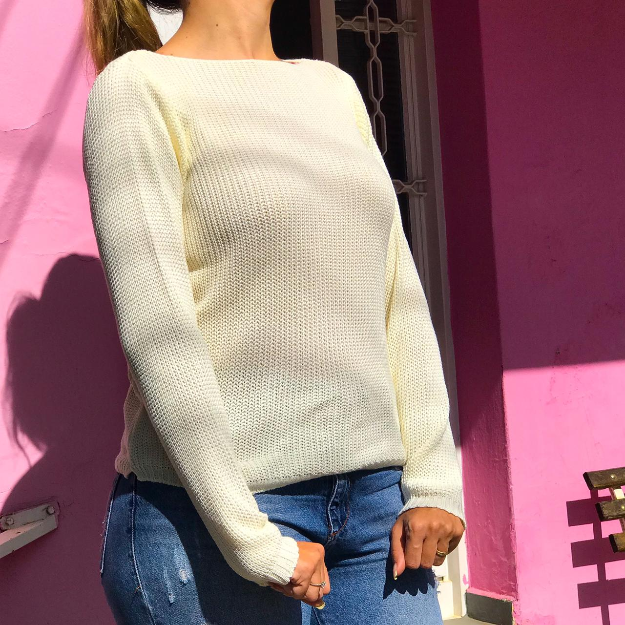 Tricot Amy Off white