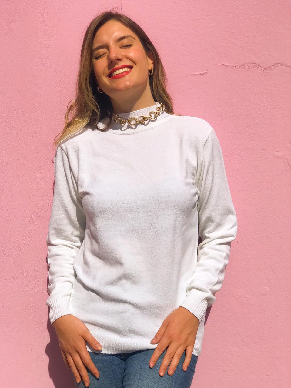 Tricot Rebeca Branco
