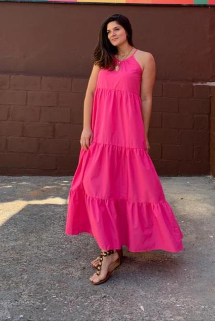 Vestido Anne Pink