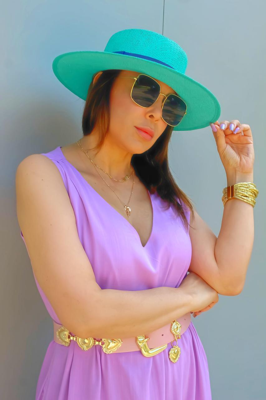 Vestido Lia Lilás