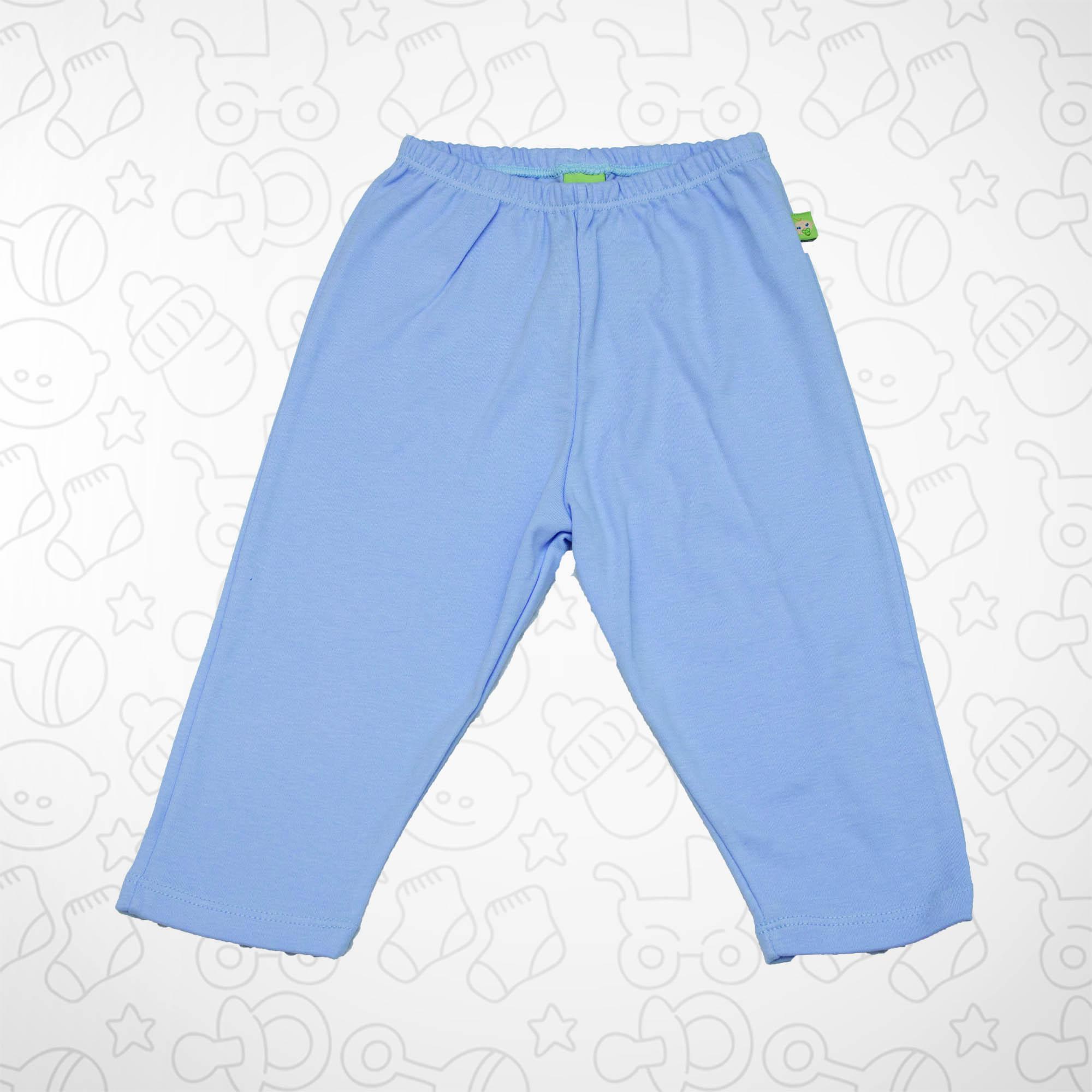 Calça Azul Claro com Barra