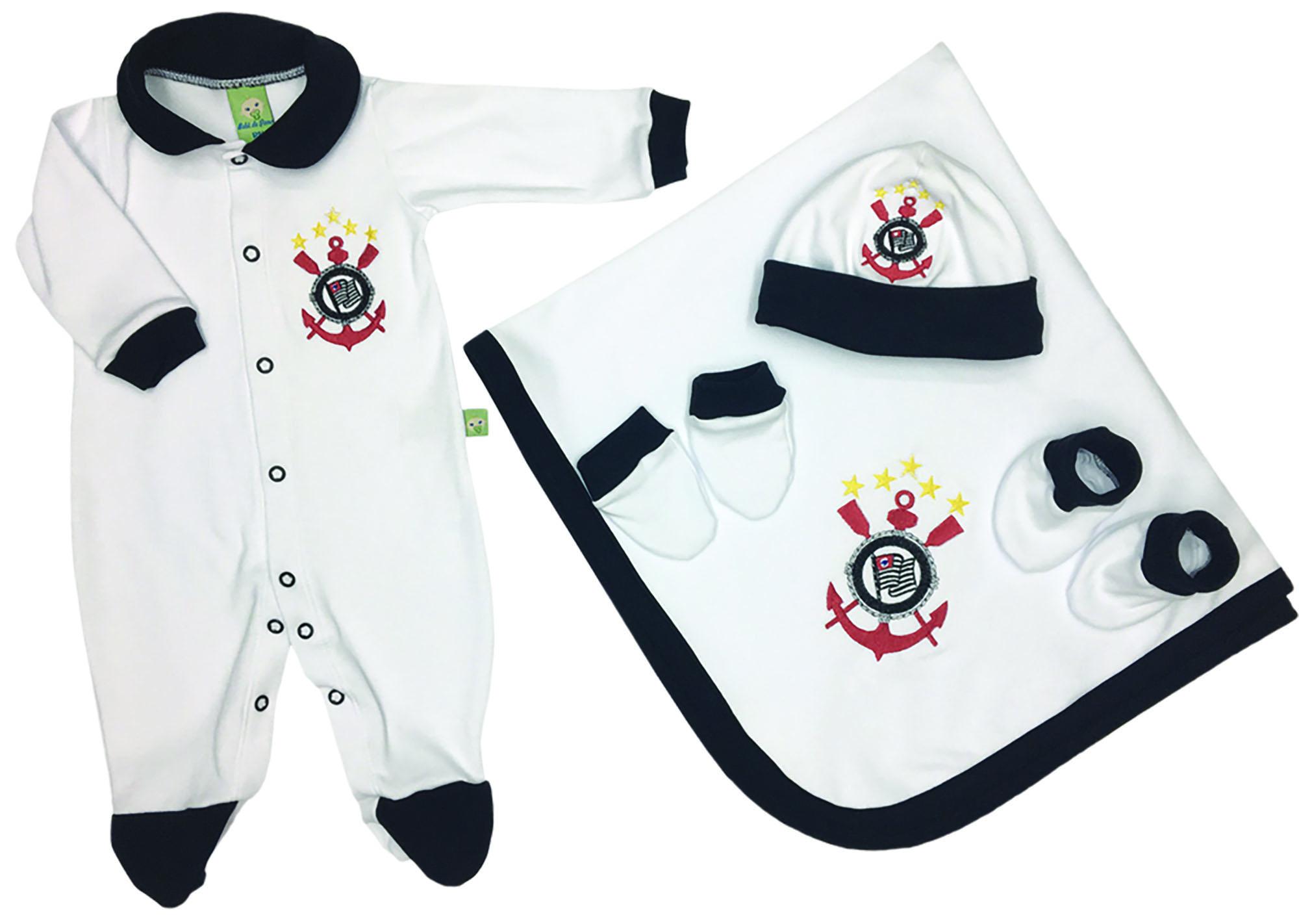 Saída de Maternidade Branca Futebol Corinthians